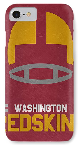 Washington Redskins Vintage Art IPhone Case