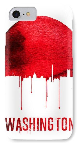 Washington Skyline Red IPhone 7 Case