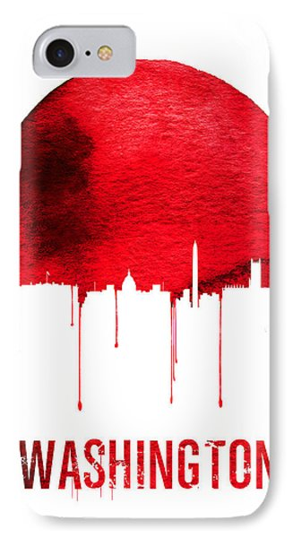 Washington Skyline Red IPhone Case