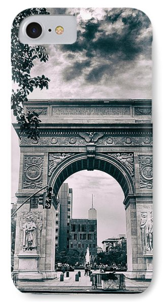 Washington Square Arch IPhone Case