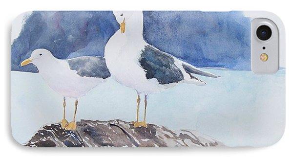 Washington - Two Gulls IPhone Case