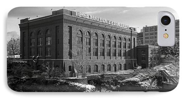 Washington Water Power Post Street Station - Spokane Washington Phone Case by Daniel Hagerman
