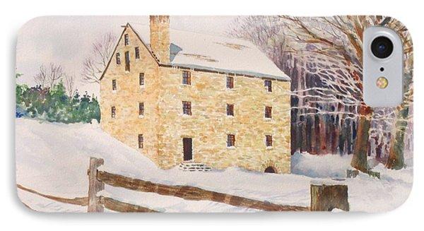 Washington's Grist Mill Phone Case by Tom Harris