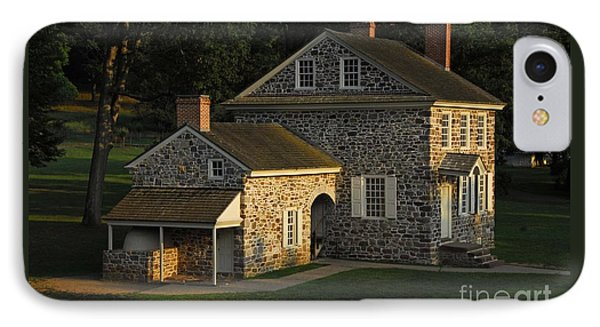 Washington's Headquarters At Valley Forge IPhone Case by Cindy Manero