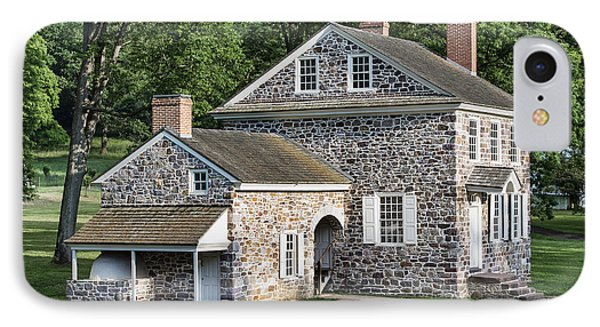 Washington's Headquarters At Valley Forge Phone Case by John Greim