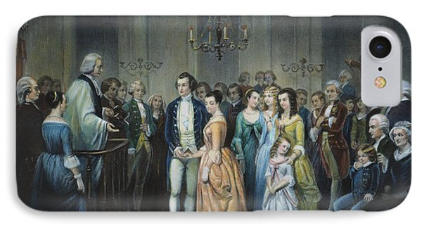 Washingtons Marriage Phone Case by Granger