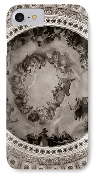 Washinton's Apotheosis IPhone Case by Jennifer Apffel