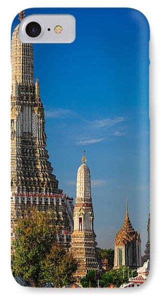 Wat Arun IPhone Case by Inge Johnsson