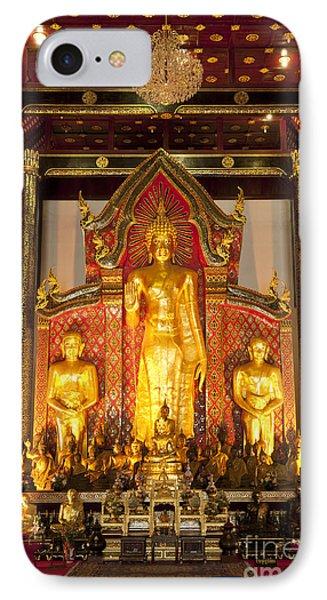 Wat Chedi Luang Wora Wihan Phone Case by Greg Vaughn - Printscapes