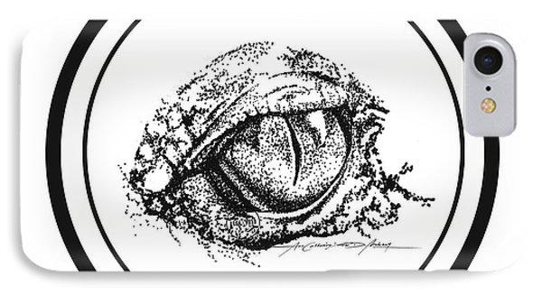 Watchfuleye IPhone Case by Roa Malubay