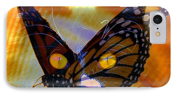 IPhone Case featuring the photograph Watching Butterlies by David Lee Thompson