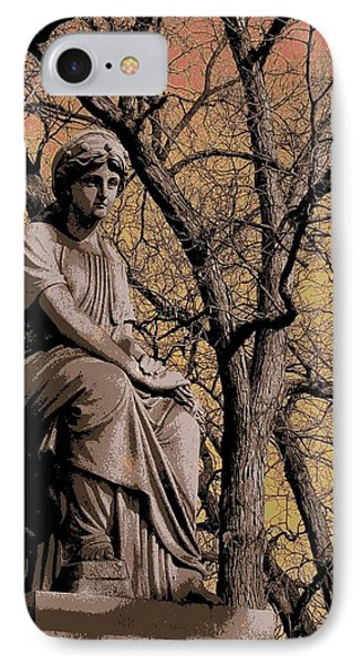 Watching Over IPhone Case by Anita Burgermeister