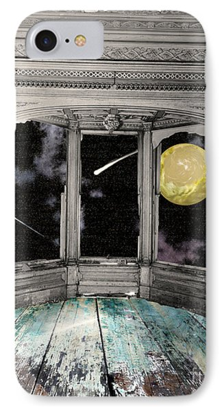 Watching The Comet IPhone Case by Mindy Sommers