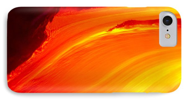 Watching The Lava Flow Phone Case by Erik Aeder - Printscapes