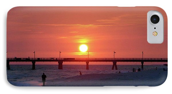 Watching The Sunset Phone Case by Sandy Keeton