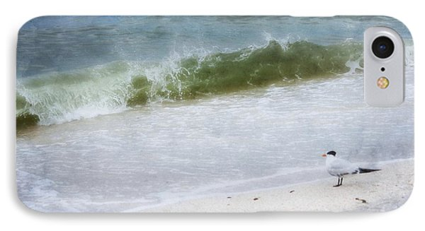 Watching Waves Crest And Break IPhone Case