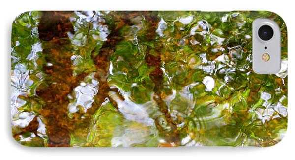 Water Abstract 17 Phone Case by Joanne Baldaia - Printscapes