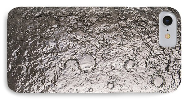 Water Abstraction - Liquid Metal Phone Case by Alex Potemkin