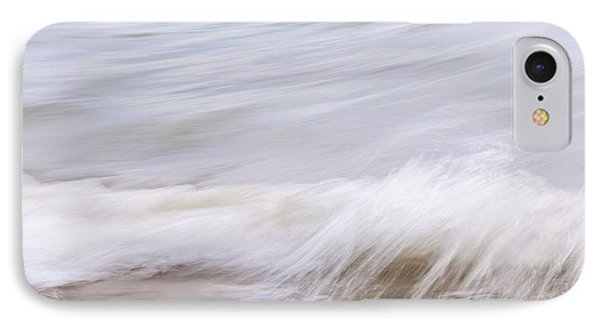Water And Sand Abstract 1 IPhone Case by Elena Elisseeva