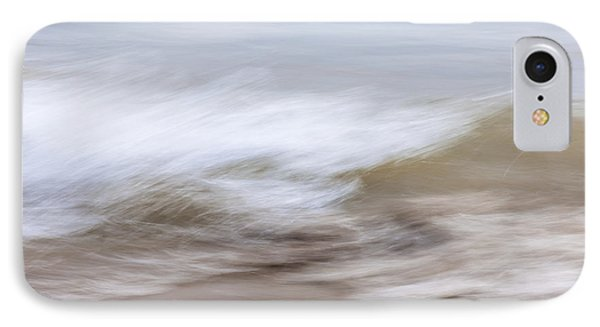 Water And Sand Abstract 2 IPhone Case by Elena Elisseeva