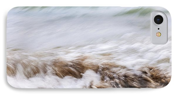 Water And Sand Abstract 3 IPhone Case by Elena Elisseeva