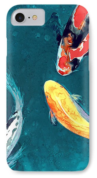 Water Ballet IPhone Case by Brazen Edwards