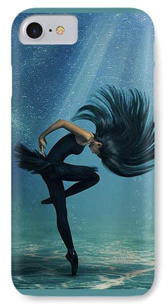 Water Ballet IPhone Case by Debby Herold