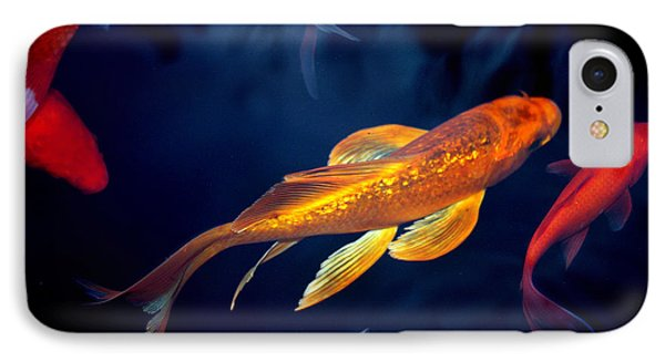 IPhone Case featuring the photograph Water Ballet by Martina  Rathgens