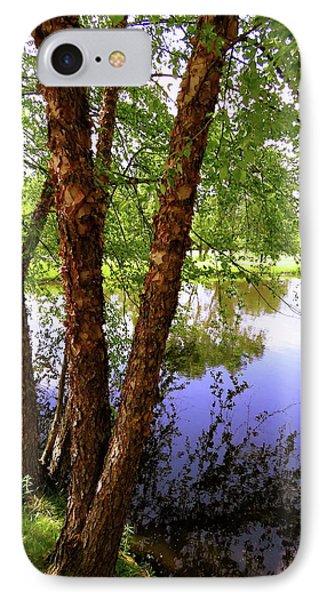 Water Birch IPhone Case