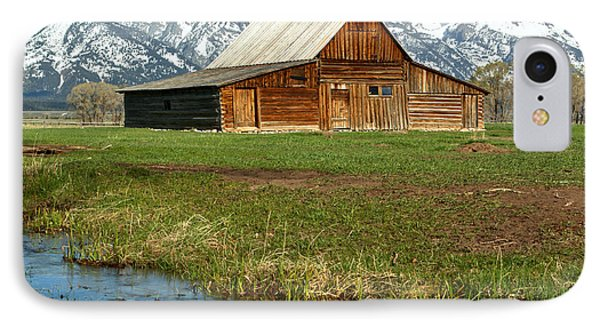 Water By The Barn IPhone Case by Adam Jewell