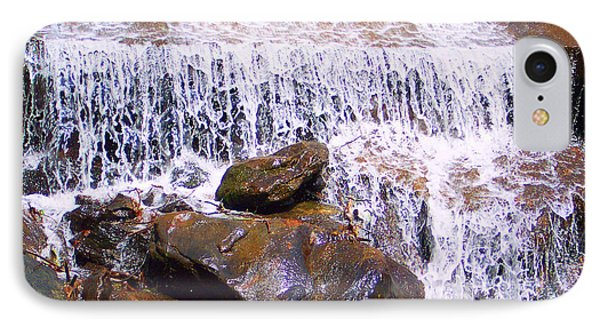 IPhone Case featuring the photograph Water Cascade by Roberta Byram