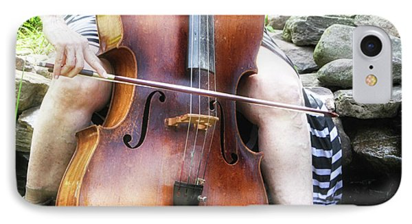 Water Cello  Phone Case by Steven Digman