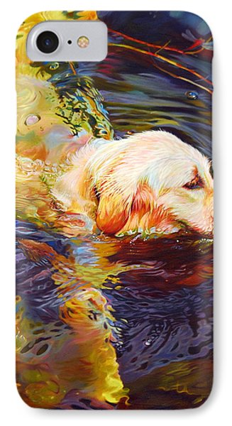 Water Dance 2 Phone Case by Kelly McNeil