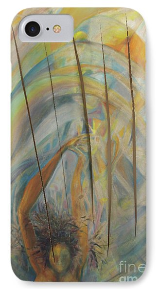 IPhone Case featuring the painting Water by Daun Soden-Greene