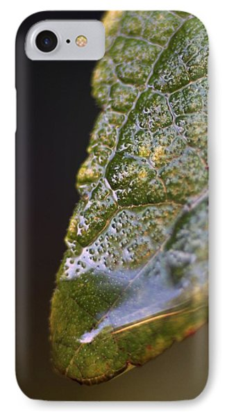 IPhone Case featuring the photograph Water Droplet V by Richard Rizzo