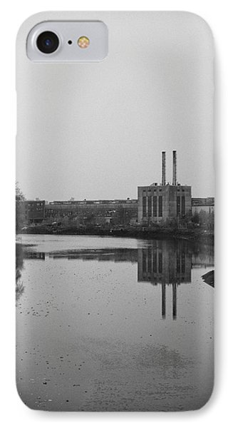 Water Factory IPhone Case by Lora Lee Chapman