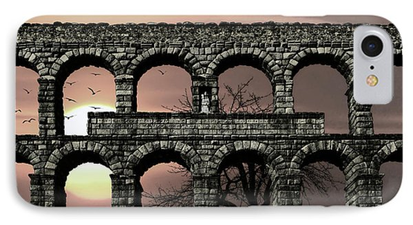 Water For Rome IPhone Case by Daniel Hagerman