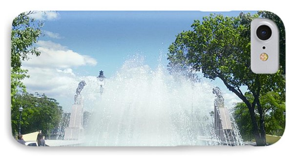Water Fountain Ponce, Puerto Rico IPhone Case
