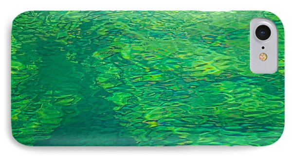 Water Green IPhone Case by Britt Runyon