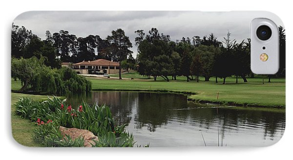 Water Hazard At Number Five Santa Maria Country Club IPhone Case by Barbara Snyder