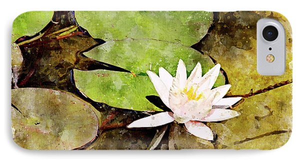Water Hyacinth Two Wc Phone Case by Peter J Sucy