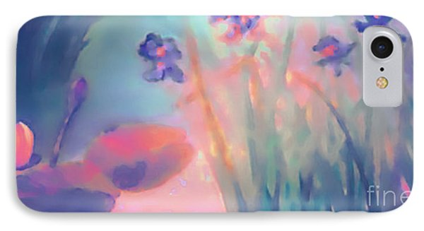 IPhone Case featuring the painting Water Iris by Holly Martinson