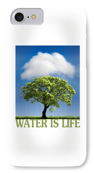 Water Is Life IPhone Case