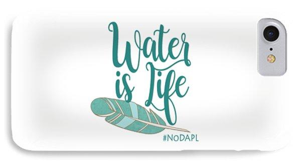 Water Is Life Nodapl Phone Case by Heidi Hermes