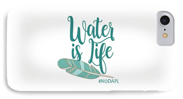 Water Is Life Nodapl IPhone Case