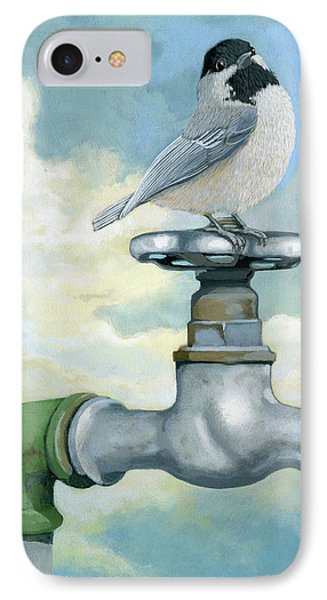 IPhone Case featuring the painting Water Is Life - Realistic Painting by Linda Apple
