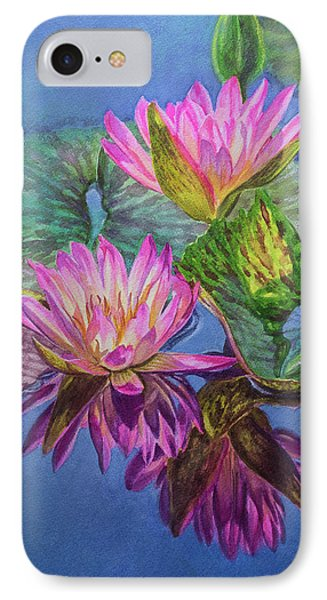Water Lilies 16 Sunfire IPhone Case