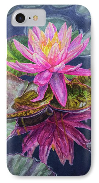 Water Lilies 17 Sunfire IPhone Case