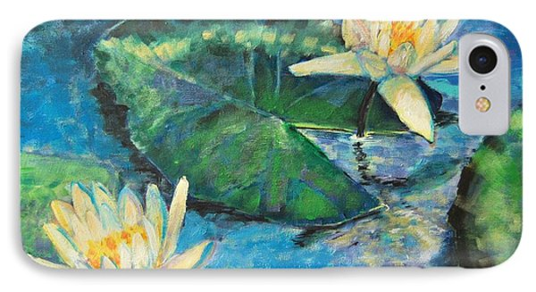 Water Lilies IPhone Case by Ana Maria Edulescu