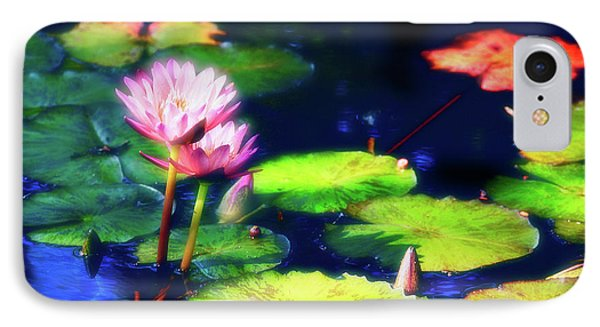 Water Lilies Phone Case by Harry Spitz